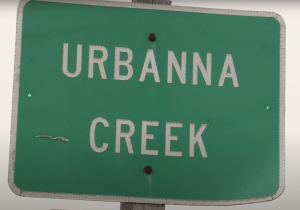 Urbanna Creek sign